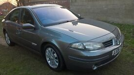 2006 Renault Laguna lovely driving car low mileage £445 for quick sale