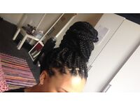 Braiding Specialist!10 years experience in braiding hair.From cainrows to singles to box braids!