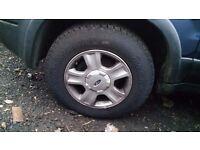 Ford Maverick Alloy Wheels & Tyres X4