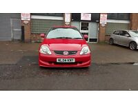 2004 Honda civic type r ep3 red k20a2 facelift not dc5 vti prefaclift