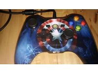 Marvell captain america Xbox 360 controller