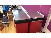 Supermarket Retail Shop Check Out Cashier Counter Desk Table Cash Register - Good condition