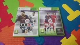 Fifa 14 & 16 xbox 360 games