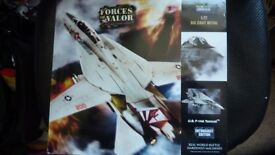 Die cast model as new in box TOMCAT US F14A fighter plane. 1:72 scale