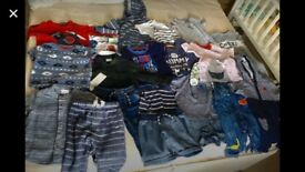 6-9m baby boy clothes bundle