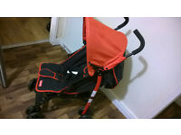 Fisher-Price Black and Red From Birth Pushchair