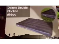Double Deluxe Airbed Brand new ideal for spare bed for guests