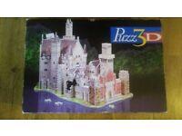 3D jigsaw _ alpine castle