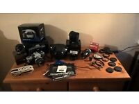Olympus OM10 35mm SLR Camera - loads of extras - fantastic kit!