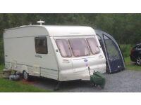 Caravan, 2001 Bailey Ranger 500-5, 5 berth,great condition, ideal first caravan