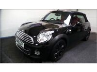 """**STUNNING MINI COOPER CONVERTIBLE, FULL RED LEATHER INTERIOR, 17"""" BLACK ALLOYS, AUTOMATIC **"""