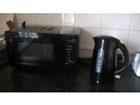 Microwave, kettle, vacuum cleaner and iron for sale