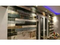 Reclaimed pallets, pallet wood and ready to fit feature walls