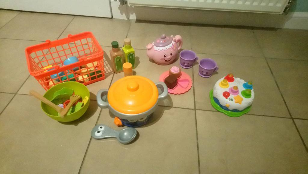 Bundle Of Toddler Toys Leapfrog Food