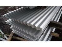 🍄 8Ft, 10Ft, 12Ft Roofing Sheets Corrugated Galvanised Aluminium Coated Free Delivery!