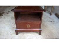 Stag mInstrel bedside cabinet solid wood
