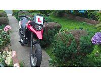 Derbi Terra 125cc 2008 red