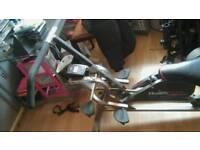 Health rider leg press machine