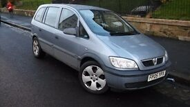 Vauxhall zafira 7 seater SWAP OR SELL