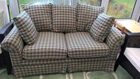 Sofa, , Dark Green Check