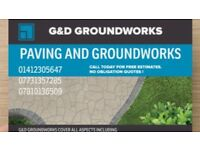 G&D DRIVEWAYS AND GROUNDWORKS