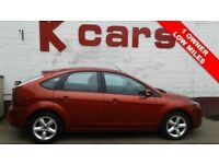 LOW MILES 2009 FORD FOCUS 1.6 ZETEC FULL SERVICE HISTORY