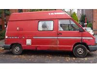 Campervan - Renault Trafic 2.1 Diesel 1992