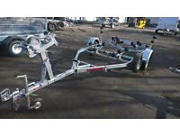 Used Unbraked Boat Trailer
