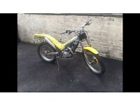 2001 gas gas trials bike 125cc