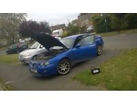 MG ZT Runs and drives need some work