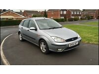 Ford Focus zebec 2004 TD DI Silver Diesel Long MOT & Great runner