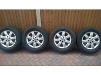 Honda crv alloy wheels and tyres