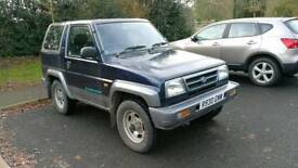 Diahatsu Sportrak - 1.6 Petrol Manual - 118k - Mot Sept - Export