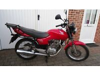 Honda CG 125cc, 12 months MOT, 2005, excellent condition, 19688 miles £1050