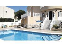 Luxury Villa, Algorfa Costa Blanca, Spain. Sleeps 6. Private Pool. Air-Con. Wi-Fi Summer Avail.