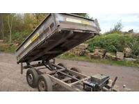 Indespension Tipping Trailer 8 x 5 - 2.5Tonne Electric and Manual Heavy Duty Work Horse