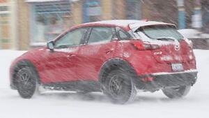 2016-2017 Mazda CX3 Snow Tire Packages starting at $702.28 – P 215/60/16 & P 215/55/17 Snow Tires Installed