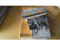 I WAS THERE Memories of 1914/1918 War 51 copies good condition - realistic offers