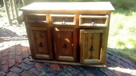 Solid wood mexican dresser