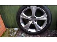 2011HONDA CRV DYNAMIC ALLOY WHEELS AND TYRES?