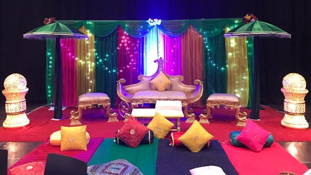 Mehndi Stage Hire : Asian wedding stage hire in luton bedfordshire gumtree