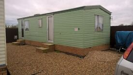 2 bedroom mobile static caravan to rent