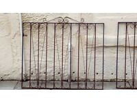 2 Metal gates .need stripped.no posts. £20 pair6