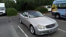 Mercedes clk advangarde 240
