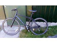 Saracen Urban Escape hybrid/commuter bike