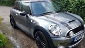 2007-Mini Cooper S 1.6cc Supercharged Facelift model Rare High Spec Model every conceivable extra