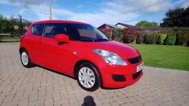 SUZUKI SWIFT 1.2 SZ2 3d 94 BHP (red) 2012