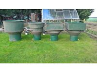 Koi pond vortex filter system for ponds up to 7500 gallons