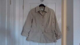 Tan Coloured Jacket Size 14