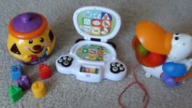 fisher price toys: cookie jar, educational toy, duck
